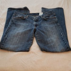 Lucky Brand Flared Dungarees Jeans Size 6